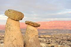 Fairy chimneys near rgp, Cappadocia (Kapadokya, Turkey) 1286 (tango-) Tags: turkey day cloudy trkei cappadocia turchia kapadokya rgp kappadokien fairychimneys   turchiia