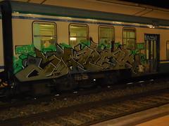 fire the world (en-ri) Tags: train writing torino graffiti grigio occhio 192 doper asm 214 acab occhietto