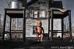 Welcome to the Doll House (TooLoose-LeTrek) Tags: baby fire chair doll outsiderart urbanart pot heidelberg arson heidelbergproject tyreeguyton gx7