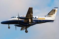 G-JIBO Blue Islands British Aerospace Jetstream 31 Southampton (rmk2112rmk) Tags: blue plane islands airport aircraft aviation jetstream british southampton 31 sou airliner turboprop aerospace eastleigh civilaviation blueislands eghi gjibo