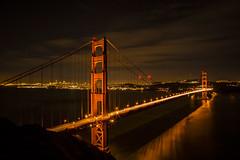 Golden Gate Bridge 3173 (J & W Photography) Tags: sanfrancisco city nightphotography reflection water clouds bay downtown december sfo goldengatebridge baybridge agu ggb lightburst fallmeeting jwphotography batteryspencerviewpoint