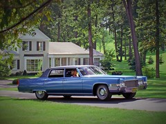 1969 Cadillac Fleetwood Sixty Special Brougham in Sapphire Blue Firemist with Dark Blue vinyl roof (biglinc71) Tags: blue roof 1969 dark with vinyl cadillac special sixty fleetwood sapphire brougham firemist