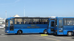 Tantivy 60 (Coco the Jerzee Busman) Tags: uk bus ford islands coach pointer transit cannon jersey swift channel leyland stringer wadham lcb plaxton tantivy