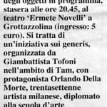Rassegna stampa TAM 2002