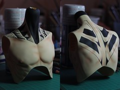 Oleg tattoo detail ([Hisomu]) Tags: bjd body tattoo spiritdoll proud faceup dollprika tribal blushing