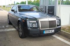 Rolls-Royce Phantom Coupé (D's Carspotting) Tags: rollsroyce phantom coupé france coquelles calais grey 20100613 hx08acj le mans 2010 lm10 lm2010