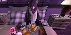 Purple time_001 (Kyon43) Tags: secondlife furry purple spring