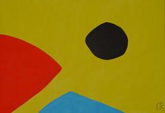 Polarisation     by Jan Theuninck, 2017 (Gray Moon Gallery) Tags: polarisation jantheuninck yellow blue red black polarización compassion polarizzazione поляризация 極化