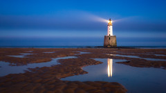 Rattray Head Lighthouse.jpg (___INFINITY___) Tags: 6d aberdeenshire beach rattrayhead rattrayheadlighthouse blue bluehour canon darrenwright dazza1040 eos infinity longexposure reflection sand scotland seascape sky flickrdiamond extraordinarilyimpressive