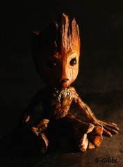 Baby Groot (gshaun12) Tags: baby groot marvel 3d printed painted hand upclose scifi movie