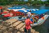 Puerta Asese Tour Boats (fotofrysk) Tags: lasisletas theislands lagodenicaragua lakenicaragua man boats tourboats puerteasese colourful steps docks centralamericatrip nicaragua granada sigma1750mmf28exdcoxhsm nikond7100 201702059561