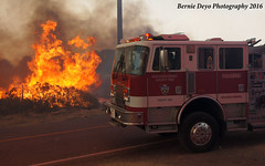 Pilot Fire (Bernie Deyo Photography) Tags: pilot fire wildlandfire brush hesperia bernardino national forest san county august 2016 summit valley department engine structure protection
