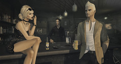 Let's go for a drink, baby (DamonFrost Resident) Tags: gizza fameshed zoom justbecause taketomi straydog 220ml madpea kinkyevent mgmens