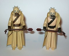 tusken raider sandpeople x 2 star wars a new hope kenner action figure hong kong coo 2 and 3 variants 1977 1978 (tjparkside) Tags: tusken raider 2 hong kong coo 3 aligned with c symbol brown straps hands dark fine sculpt torso small grooves groin limbs sandpeople x star wars new hope kenner action figure variants 1977 1978 m variant 1 has gmfgi lined up h