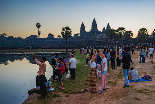 Sunrise at Angkor Wat IV