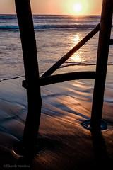 Waiting on both sides (Ojo de Piedra) Tags: xseries sand wisdom water foam healingwaves fujifilm sea beach ocean healing travel backlight solitude xt10 coast warmlight waves guerrero mexico mex