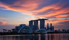 Cloudscape (Br@jeshKr) Tags: cloudscape bayeastgarden brajeshart marinabaysand mbs singaporeevening goldenhour bluehour sunsetglow sunset sunrise singapore lake