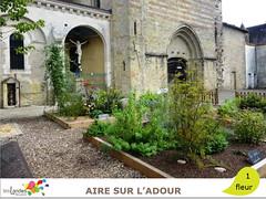 aire_eglise (Tourisme Landes) Tags: landes fleurs vvf