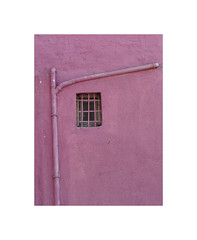 41500501 (ufuk tozelik) Tags: ufuktozelik wall window fence pipe rainpipe pink paint urban urbanexplore