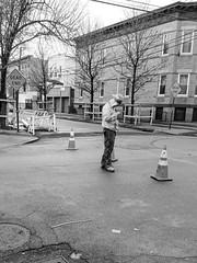 "Breaktime (Santos ""Grim Santo"" Gonzalez) Tags: fttt instagram breaktime queens ny streetphotographer nycstreets newyorkcity newyorknewyork storyofthestreet gothamist citylife sooc nyspc ridgewoodqueens grimsanto nyc streetphotography streettog samsung flickr samsungphoto bw blackandwhite monochrome"