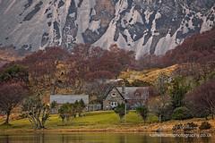 Airdachuilinn House (Shuggie!!) Tags: birch eveninglight highlands hills houses landscape lochstack mountains scotland sutherland trees zenfolio karl williams karlwilliams