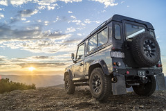 Landrover - Mt Coree (cheekeemonkeez) Tags: act mt coree uriarra cotter bush landrover camping campfire sony a58 stars sunset