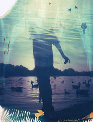 Spring Roid Week 2017 (The Gentleman Amateur) Tags: polaroid iduv expired film 250 analog analogue doubleexposure london england uk roidweek polaroidweek