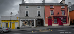 James Street -  Paul's Barber Shop, O'Brien and Blouser's - Wesport, Co. Mayo (Steph Breton) Tags: green westport irlande ireland mayo buildings westofireland connaught