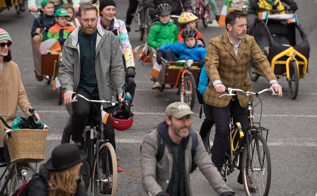 DUBLIN CYCLING  CAMPAIGN [ ST PATRICKS DAY PARADE 2017]-125817