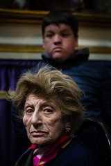 . (Joanna Mrowka) Tags: italy sicily trapani procession holy week travelphotography travel portrait lady woman