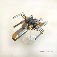 Xwing - study (did b) Tags: xwing starwars moc microscale lego legomoc legocreation legodesign