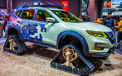 NY Auto Show 2017 (dannydifalco) Tags: nyautoshow offroad nissan rouge treads