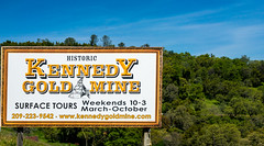 Historic Kennedy Gold Mine - Happy Sign Sunday (randyherring) Tags: ca california foothills nature view mountains sierranevadafoothills outdoor trees recreational afternoon jackson unitedstates us