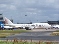 B-KAC (IndiaEcho) Tags: bkac dragonair boeing 747300 cargo freight manchester international airport airfield egcc man england cheshire aircraft aeroplane avaition airliner