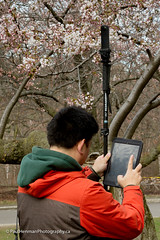 Derek making a 360 shot (Paul Henman) Tags: toronto highpark 2017 torontophotowalks cherryblossoms paulhenman topwrs ontario canada paulhenmanphotographyca topw photowalk httppaulhenmanphotographyca