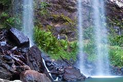 twin falls plus one 猛男是如何炼成的ii (nzfisher) Tags: twinfalls springbrook springbrooknationalpark goldcoast queensland australia waterfall longexposure water 50mm canon boy boyhood child childhood