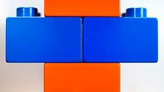 Orange & Blue (michel1276) Tags: orangeandblue macromondays