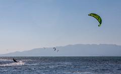 2_Kite_al_Delta_de_l'Ebre (Joan_Sanchez) Tags: kite surf santcarlesdelarapita deltaebre deltebre sea mar blue