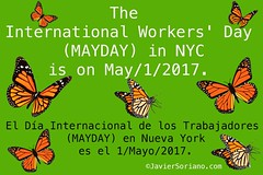 International Workers' Day (MAYDAY) in NYC (Javier Soriano) Tags: internationalworkersday mayday maydaynyc foleysquare centralterminal newyorkcity immigrants undocumented díainternacionaldelostrabajadores indocumentados inmigrantes trabajadores workers nyc