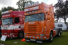 S J BOTT CARLUKE SX03SOU (bobbyblack51) Tags: s j bott carluke sx03sou scania 164g 580 v8 truckfest ingliston edinburgh 2015