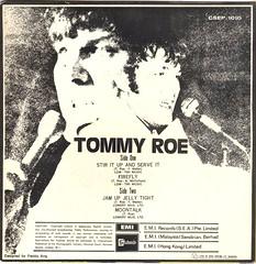 Roe, Tommy - Stir it Up And Serve It - EP - Singapore -  1970- (Affendaddy) Tags: vinylsingles vinyleps tommyroe stiritupandserveit firefly jamupjellytight moontalk stateside csep1010 singapore 1970 us1960spop collectionklaushiltscher