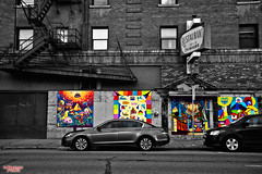 Color My World (MBates Foto) Tags: architecture availablelight blackandwhite buildings cars color existinglight finedetails nikkorlens nikon nikond810 old outdoors pacificnorthwest spokane urban washington unitedstates 99201
