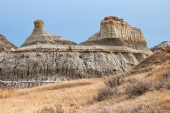 Hoodoos (Explore #103) (Canon Queen Rocks (1,560,000 + views)) Tags: hoodoos dinosaurprovincialpark provincialpark alberta canada landscape rocks nature grass