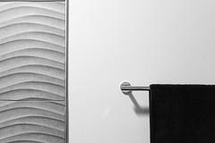 separation (apg_lucky13) Tags: 2 22mm canon jdc jasdaco m m2 abstract bw bathroom bed bedroom breakfast curves eosm2 geometric home indoors lines minimal monochrome painting tile towel viewpoint wall ca usa mirrorless