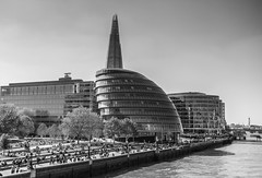 City Hall (londonlass16 LRPS) Tags: london capital city flickrmeetup urban cityhall 365the2017edition 3652017 day98365 8apr17 monochrome architecture building