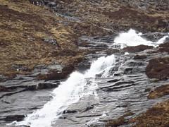 8489 Ben Nevis waterslide (Andy - Busyyyyyyyyy) Tags: 20170316 ggg glen glennevis mmm mountain waterslide www