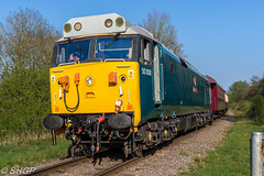 NVR Diesel Gala 2017 (SHGP) Tags: nvr nene valley railway diesel gala locomotive train rail class 31 50 56 47 66 hst prototype hs125 125 high speed railroad vehicle outdoor shgp steven harrisongreen photography canon eos 700d sigma 18250mm joby 55 deltic english electric 60 14 engline track country countryside heritage