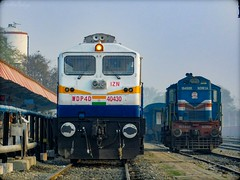 IZN WDP-4D #40430 & GD WDM-3A #16498-R - Indian Railways !!! (Anubhav_Kashyap) Tags: 40430 16498 izn izatnagar indianrailways irfca wdp4d wdm3a gonda gd morning lalkuajunction uttrakhand anubhavkashyap indiatravel indianrailfanclubassociation incredible incredibleindia indialove trainspotting transport travellingphotography traveller track trainworldwide trainwatcher trainlovers railroad railways northeasternrailways railwaylover railfanning railmen railfans northernrailways beautiful beauty highqualityphoto wallpaper newbie north photography ngc