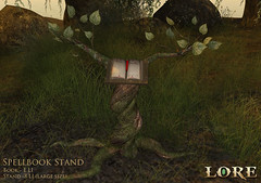 Spellbook Stand (LalaLamour) Tags: {lore} fantasy we3rp magic