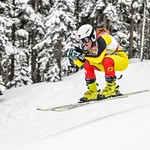 Cassidy Gray (Panorama Ski Club) SG top Canadian - 4th place PHOTO CREDIT: Coast Mountain Photography www.coastphoto.com